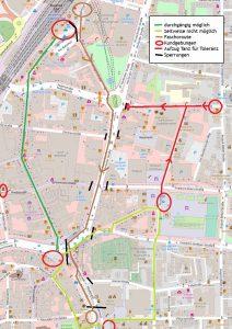 Bielefelder Demo-Route